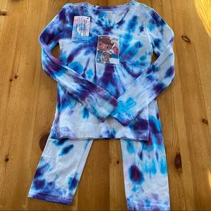New hand tie dyed Doc McStuffins shirt and capris